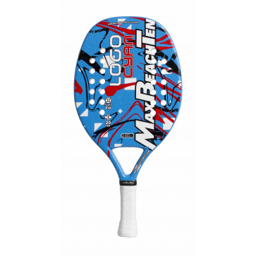 Racchetta Beach Tennis MBT LOGO CYAN XL 2019