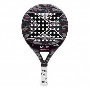 Racchetta Paddle Nox ML10 PRO CUP SURVIVOR GRIS 2019