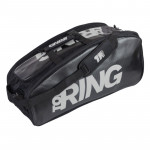 Borsone Beach Tennis Top Ring BAG MID NERO - ARGENTO 2020