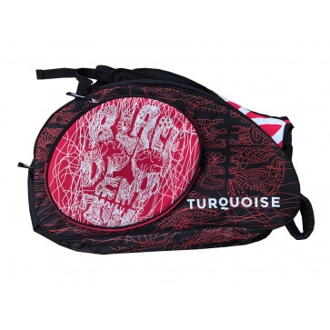 Turquoise SUPER PRO BAG BLACK DEATH RED 2019